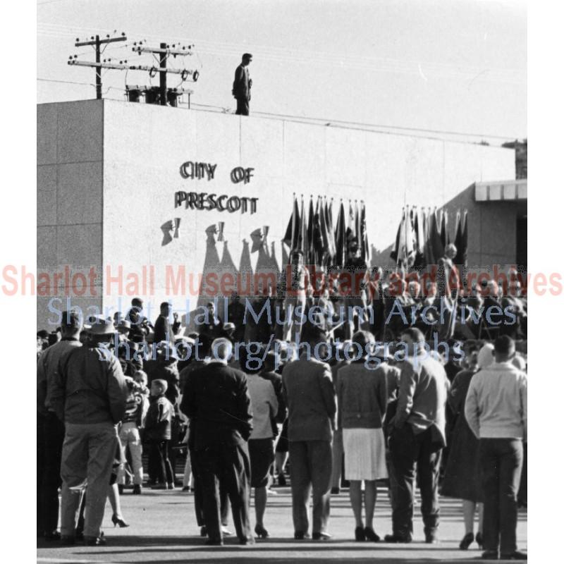 Dedication of Prescott City Hall, Prescott, Arizona