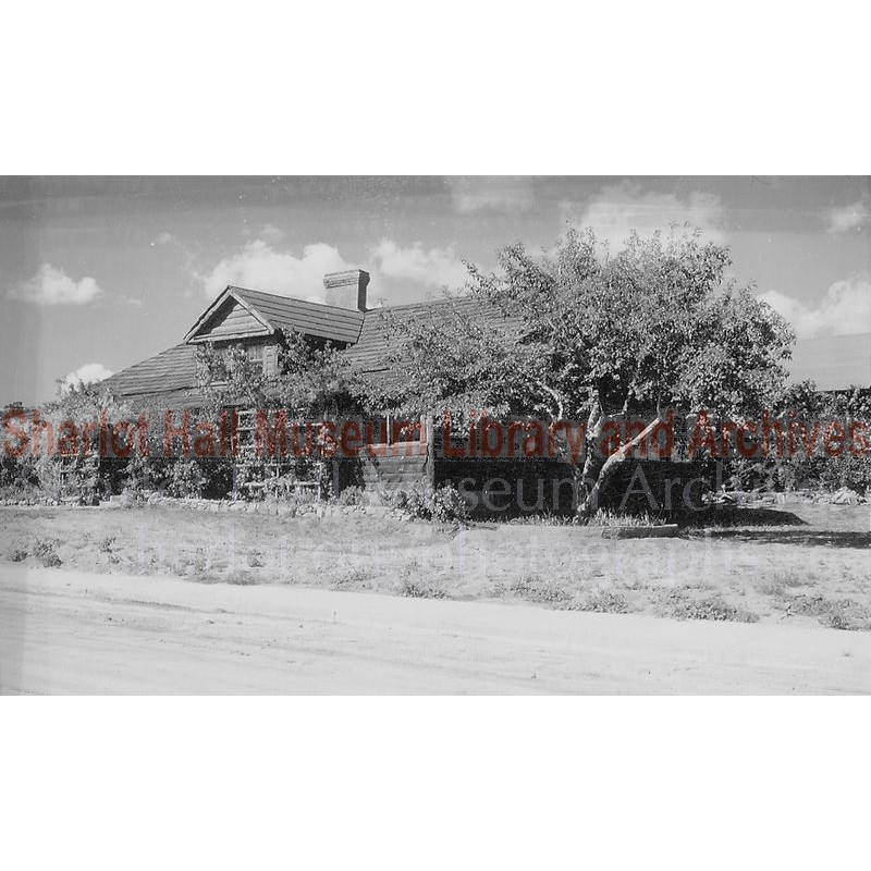 Governor's Mansion on Sharlot Hall Museum Grounds, Prescott, Arizona