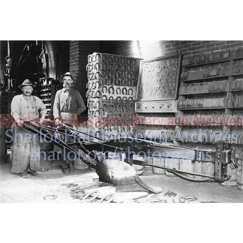 George Ruffner's Blacksmith Shop Interior, Prescot, Arizona