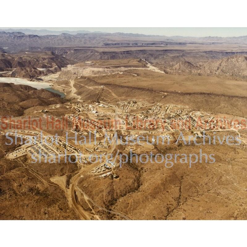 Aerial photo of Bagdad, Arizona