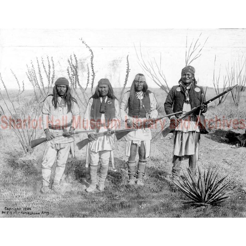 Apache Leader Geronimo