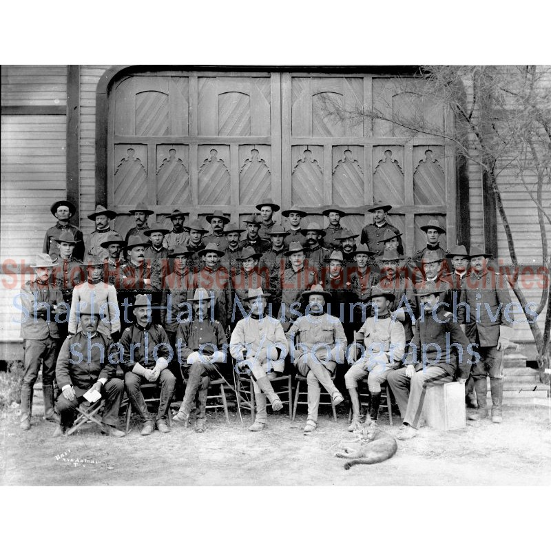 Officers of the Rough Riders