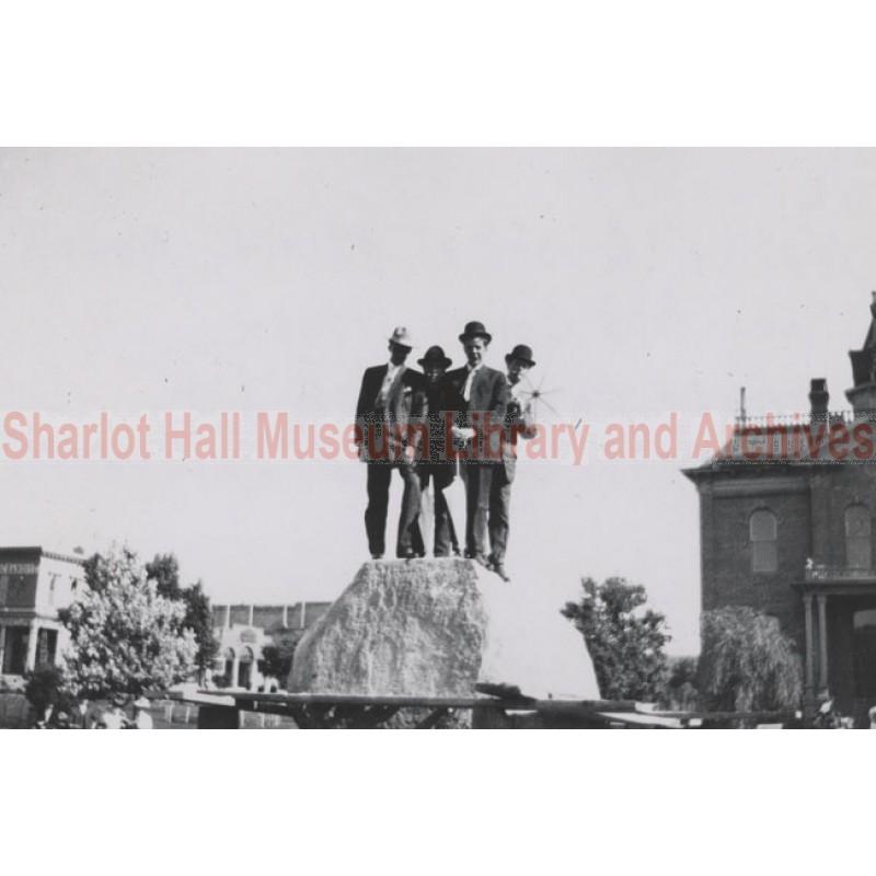 Unveiling of William O. O'Neill Rough Rider Monument, Prescott, Arizona