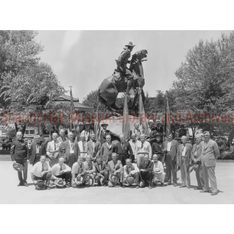 Spanish American War Veterans, Courthouse Plaza, Prescott, Arizona