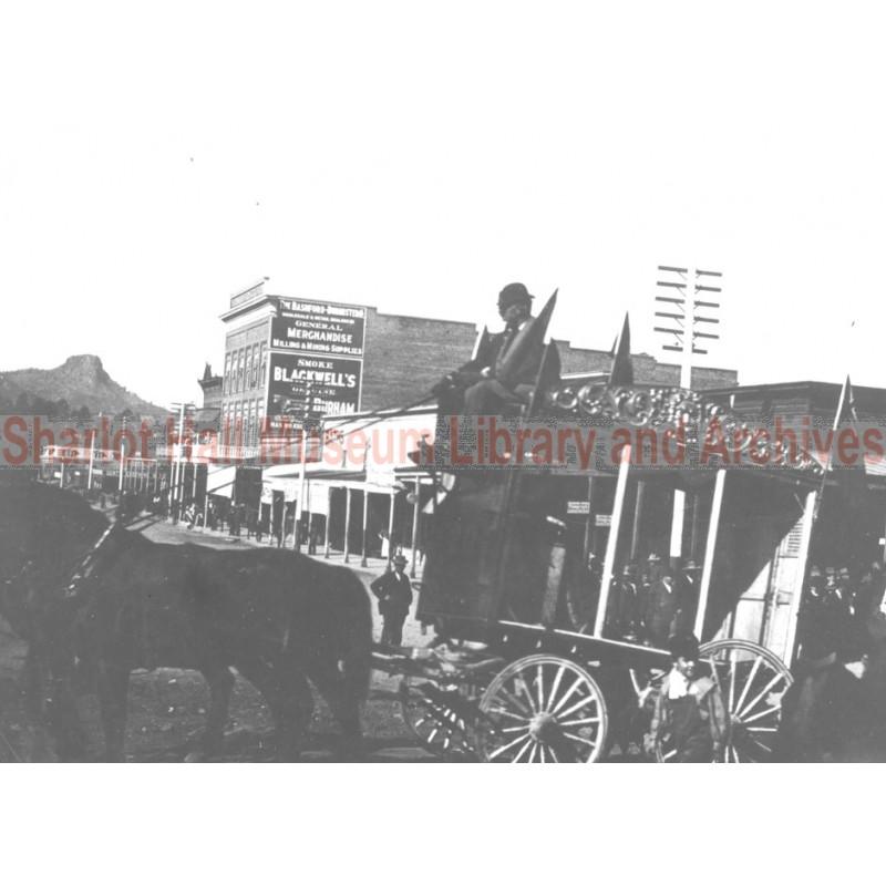 Horse Drawn Carriage, Prescott, Arizona