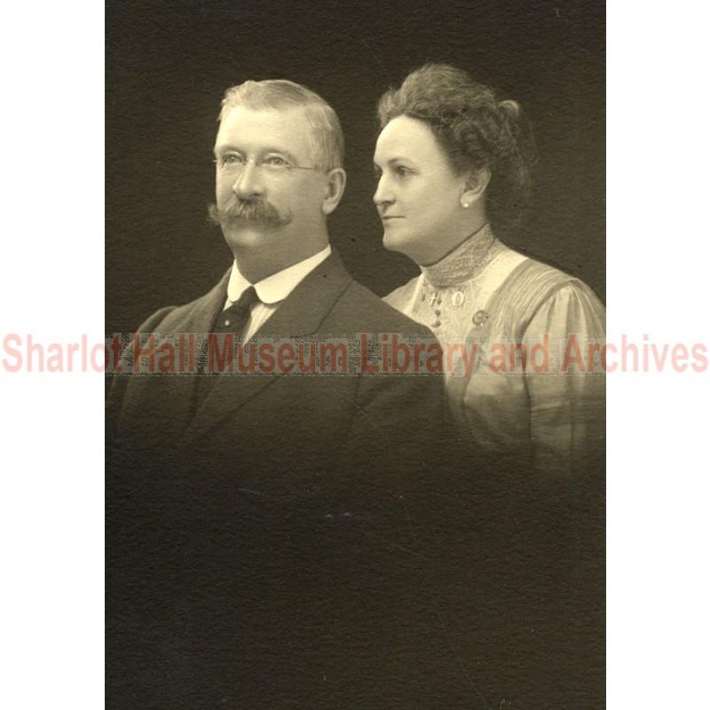 Mr. and Mrs. William Tipton portrait