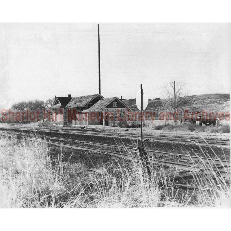Santa Fe Railroad Depot, Skull Valley, Arizona