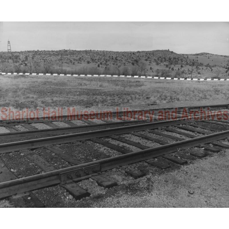 Santa Fe Railroad and City of Prescott, Arizona Land Holdings South of Granite Dells