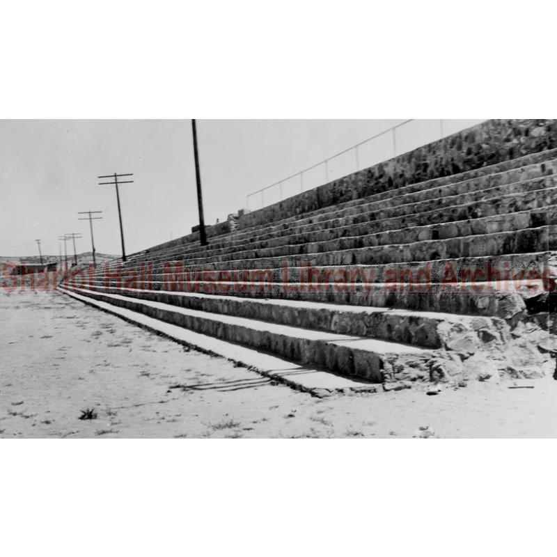 City ball park under construction, Prescott, Arizona