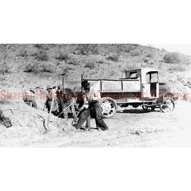 Construction vehicle, Verde Valley, Arizona