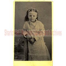 "Mary ""May"" Boblett at Ten Years Old"