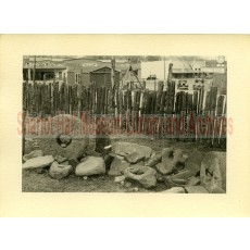 Graining stones at Sharlot Hall Museum