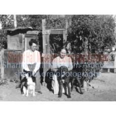 Sharlot Hall and Alice Hewins at Orchard Ranch