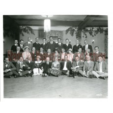 Sharlot Hall and large group of first movie colony