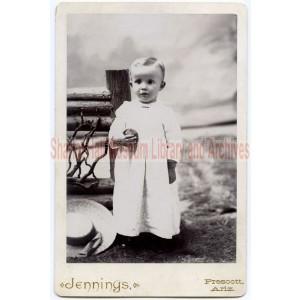 Edward Leonard Boblett as a child