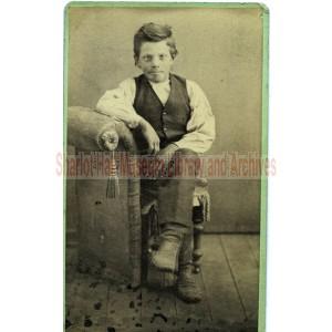 Edward J. Boblett as a Child