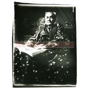 Adeline Hall Holding Book