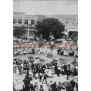 Rough Rider Monument Dedication Ceremony, Courthouse Plaza, Prescott, Arizona