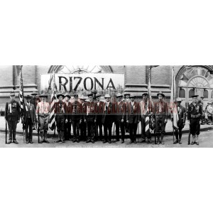 Arizona Delegation to 31st Annual Encampment, Spanish-American War Veterans, Denver, Colorado