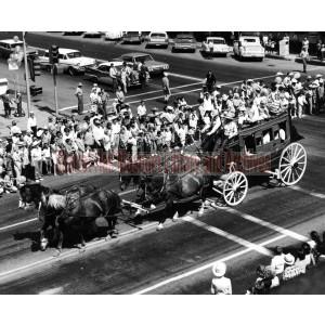 Sharlot Hall Museum Stagecoach Parade entry, Prescott, Arizona
