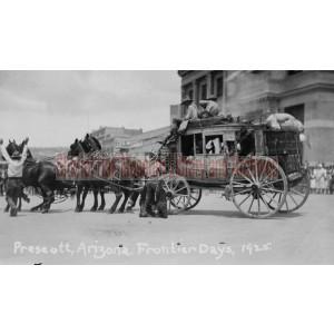 Sharlot Hall Museum's Stagecoach, Frontier Days and July 4th Parade, Prescott, Arizona