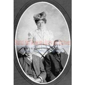Sharlot Hall, Major Doran & Allan Doyle