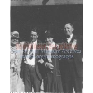 Sharlot Hall, Grace and Jack Sparkes, and Dan Seaman