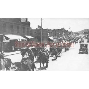 Rodeo Parade through town, Prescott, Arizona