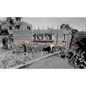 Construction of One of the Smoki Museum Buildings, Prescott, Arizona